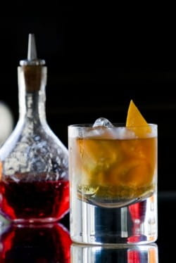 Jolly Old-Fashioned: a great seasonal twist on this cocktail classic