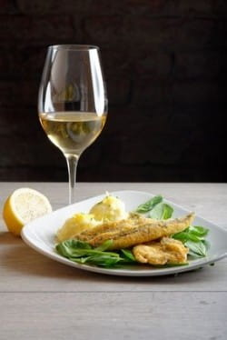 Six of the best matches for bacchus and other dry english for White wine with fish