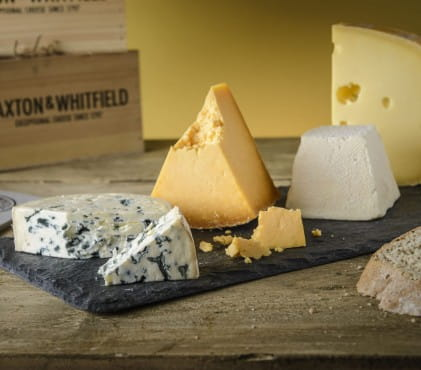 Win a 3 month membership of Paxton and Whitfield's Cheese Club