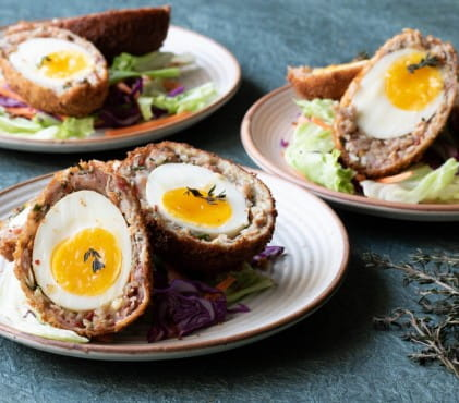 Six of the best drinks to pair with a scotch egg