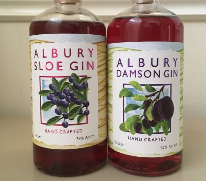 Gin of the month: Albury sloe and damson gins