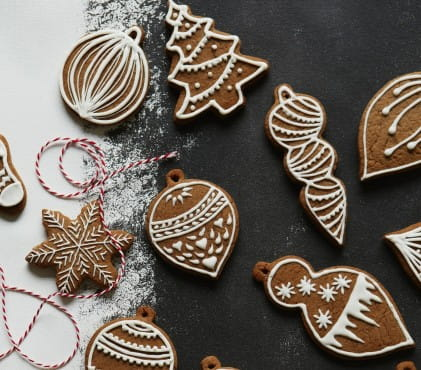 Polish spiced Christmas cookies