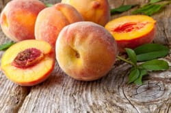 Wine (and other) pairings for peaches and nectarines