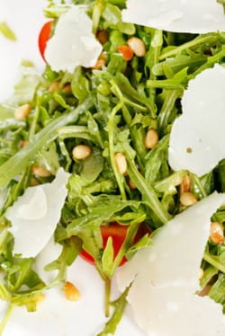 Rocket And Parmesan Salad With Dry Amontillado Sherry