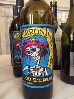 Chronic Cellars Sofa King Bueno 2013 Matching Food Wine