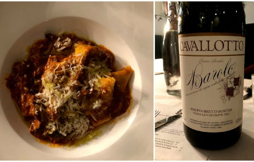Match of the week | Pappardelle with beef shin and Barolo